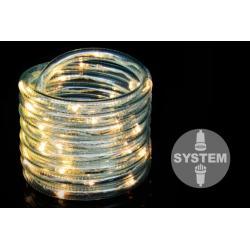 Vánoční LED osvětlení 10 m - studená bílá 100 LED