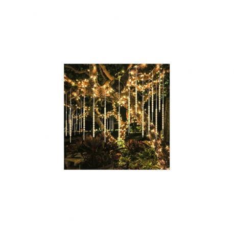 Vánoční LED osvětlení - hvězdy - teple bílé 10 LED