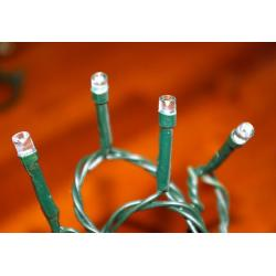 Vánoční LED osvětlení 3,5m - teple bílé, 35 diod