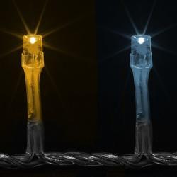 Vánoční LED osvětlení 1,85 m - teple bílé 20 LED