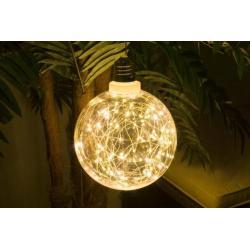 Vánoční LED osvětlení 4,5m - studené bílé, 50 diod