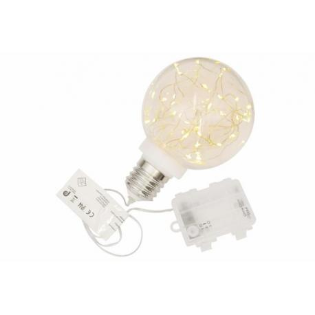 diLED světelný řetěz - 100 LED teple bílá + napájení